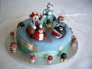Mario and Lugi Cake