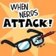 When Nerds Attack logo